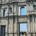 Historic Centre of Macau -Ruins of St. Paul's, Calçada de S.Paulo.
