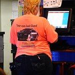 Waitress's Shirt