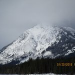 Forgot the name of this mountain at Lake Wenatchee