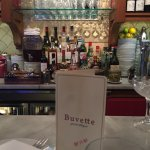 Bar area at Buvette