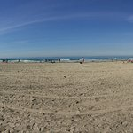 Pano of La Jolla Shores Park's beach
