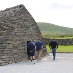 """The stonework is absolutely amazing. Note that the guys range from 6 feet to 6'4""""."""
