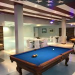Interior - pool table (adjacent to bar area)