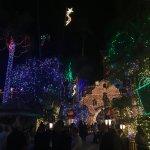 Festival of Lights outside the hotel!!!