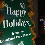 Holiday Light displays at Lilacia Park