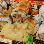 2 shrimp tempura rolls and a California roll $11