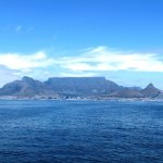 The view from the ferry - unsurpassed Table Mountain view