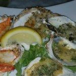 Baked Oyster Sampler