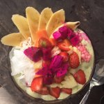 smoothie bowl (vegan, nut free)