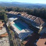 Foto aerea area Spa e Suite