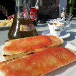 tostadas con tomate y aceite