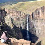 The high pastures around the Maletsunyane Falls, Africa's highest