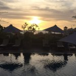 Sunset from Roof Top Pool