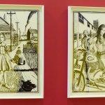 Grayson Perry Woodcut prints