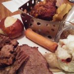 Bacchanal Buffet, not up to standards for the pricing