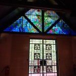 The Pavilion - Sandakan Memorial Park - Stained glass windows