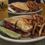 Best Reuben Sandwich...tender corned beef melts in your mouth!