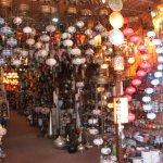 Shop selling lamp shades
