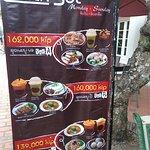 Set menu of viet-namese foods