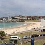 Get the hop on hop off bus to Bondi beach!