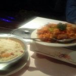 Chicken Szechuan and Young chow Fried Rice