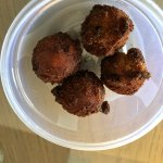 Overcooked hushpuppies