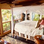 Kohola Suite view and king bed