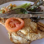 Chicken from Barefoot Grill