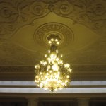 Another crystal chandelier