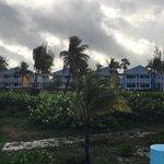 vu plage vers bungalows