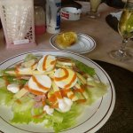 Chief Salad with Hatten Aga White Wine