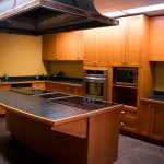 Shared kitchen from Governors Hall