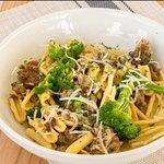 Cavatelli sausage + broccoli