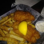 Fish and chips.  Good cod.