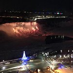 view from the room of the American Falls - 18th floor