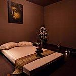 Sala con Tatami,preparada para el masaje Traditional Thai.