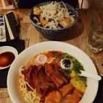 Ramen Bowl and Noodles