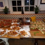 Delicious buffet for a private function