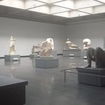a corner of the Henry Moore collection