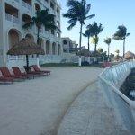 partial sandy beach