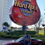 In front of Hard Rock, Biloxi!