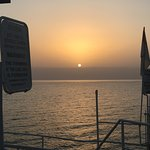 Sunrise over the sea of galilee