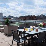 Presidential rooftop terrace