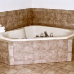 The whirlpool tub in our spacious whirlpool suite provides an extra level of luxury.