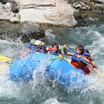 Whitewater rafting Glacier National Park is just down the hill from the Lodge!