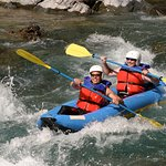 Inflatable kayaks, or duckies, are an even more exciting option when whitewater rafting.