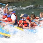Whitewater rafting is fun for couples, singles, or the whole family!