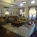 Luxury, traditional lounge area