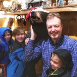 Photo with Bart the Bear