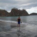 crazy volcanic beach